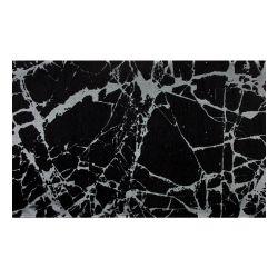 Teppich SM 21 | Schwarz, Silber