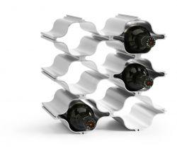 Aluminium Wein-Regal Hex | Aluminium