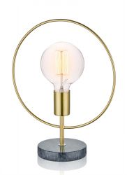 Lampe de Table Ronde | Or