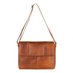 Messenger-Bag | Cognac