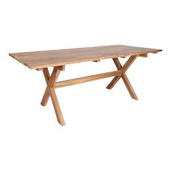 Outdoor Dining Table Murcia Teak | Light Wood