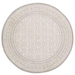 Teppich Tonar Ø 200 cm | Beige