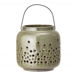 Lantern Stoneware Small | Green