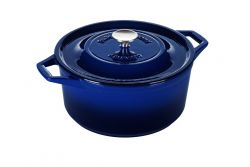 Casserole | Cast Iron | 28 cm | Blue