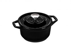 Casserole | Cast Iron | 20 cm | Black