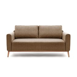 Milton 3 Seater | Light Brown