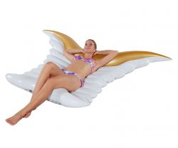 Inflatable Pool Floater Angel Wings