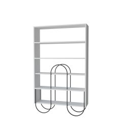 Bookcase Norfolk | White