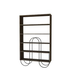 Bookcase Norfolk | Dark Brown