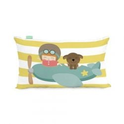 Housse de Coussin 50 x 30 cm | Learning to Fly