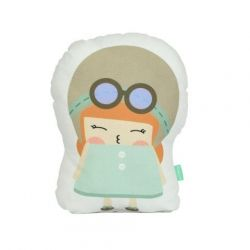 Cushion 40 x 30 cm | Aviator Girl