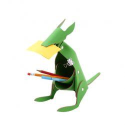 Schreibtischorganisator Känguru | Grün