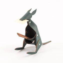 Schreibtischorganisator Känguru | Grau