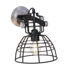 Wall Lamp 1-L 7875ZW | Black
