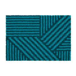 Rug Weave Felt Ball 70 x 100 cm