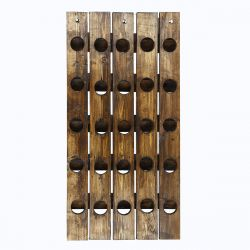 Wine Rack 25 Bottles | Spruce Wood