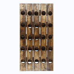Weinregal 25 Flaschen | Fichtenholz