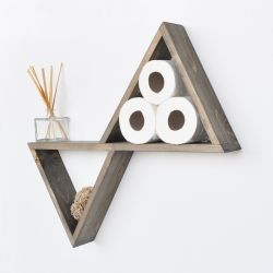 Wall Shelf Aa004 | Walnut