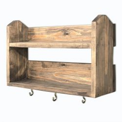 Wall Shelf Aa033 | Walnut