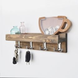 Wall Shelf Aa037 | Walnut