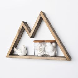 Wall Shelf Aa045 | Walnut