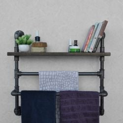 Pipe Shelf | Black