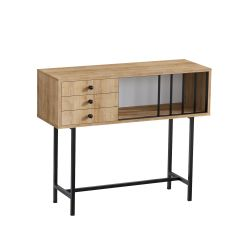 Sideboard Paco | Oak-Black