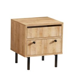 Nightstand Pedro | Oak-Black