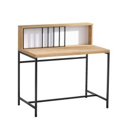Study Desk Dustin | Oak-Black