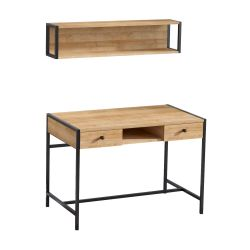Study Desk Pena | Oak-Black