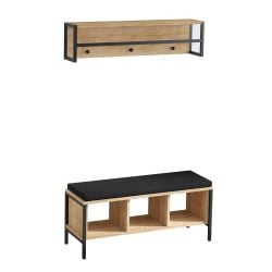 Hall Stand Shana | Oak-Black