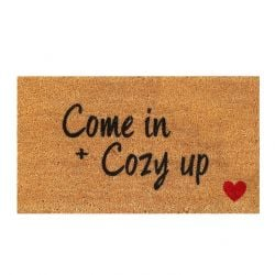 Doormat Come in | Brown-Black