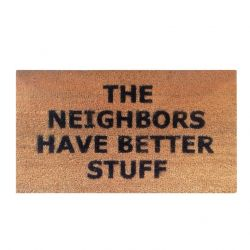 Doormat Neighbours | Brown-Black