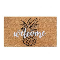 Doormat Pineapple | Brown-Black