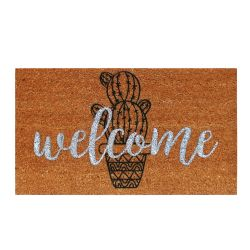 Doormat Cactus | Brown-Black
