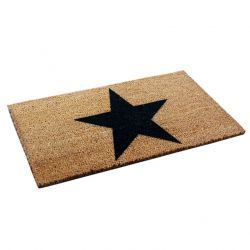 Doormat Star | Brown-Black