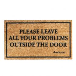 Doormat Problems | Brown-Black