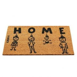 Doormat Ornaments | Brown-Black