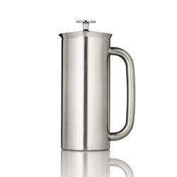 P7 French Press w/ Coffee Filter | Stainless Steel