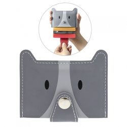 Credit Card Holder Zoo | Grey