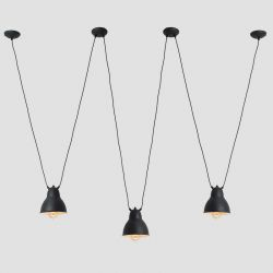 Pendant Lamp Adjustable Coben Hangman 3 | Black