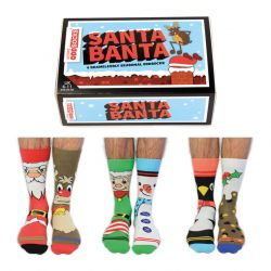 Socks Santa Banta | Set of 6