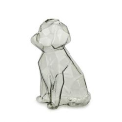 Vase Sphinx Chien 15 cm | Gris