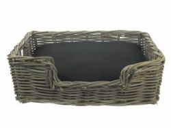 Dog Basket Rattan