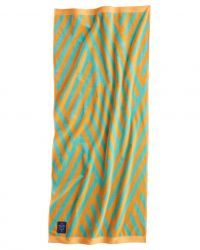 Drap de Bain Bonsall | Turquoise & Orange