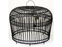 Lampshade Rattan | Black