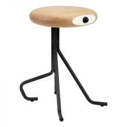 Companion 4 Legs Stool | Black