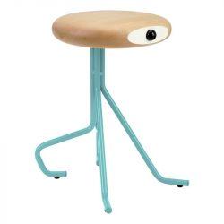 Companion 4 Legs Stool | Turquoise