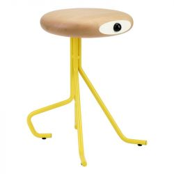 Companion 4 Legs Stool | Yellow