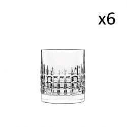 Set van 6 Lage Glazen Charm